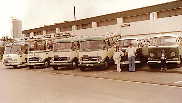 43 c Busflotte Wilfried 1978