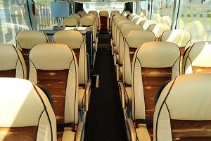 Reisebus Luxusfedersitze - Bus anmieten Köln